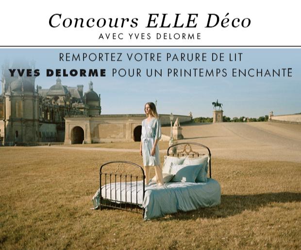 Gagnez 3 parures de lit Yves Delorme (700 euros)