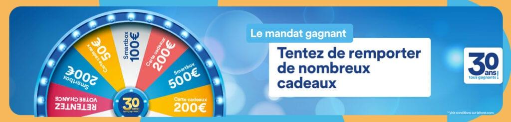 Gagnez 2 coffrets Smartbox de 500 euros