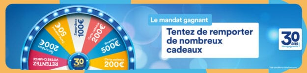 Gagnez 5 cartes cadeaux «Fnac Darty» de 200 euros