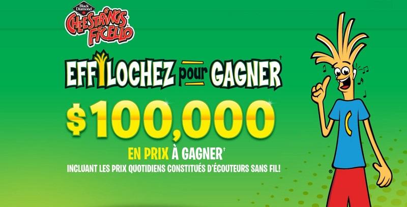 Concours du Québec - EFFILOCHEZ POUR GAGNER!