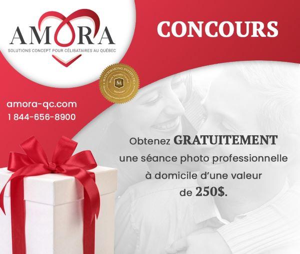 GAGNEZ UNE SÉANCE PHOTO PROFESSIONNELLE À DOMICILE D'UNE VALEUR DE 250$!