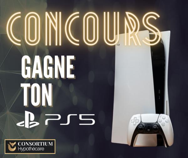Concours du Québec - GAGNEZ VOTRE PS5!