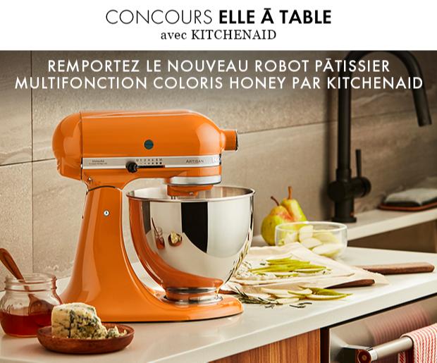 Gagnez 3 robots pâtissiers HONEY édition limitée par KitchenAid