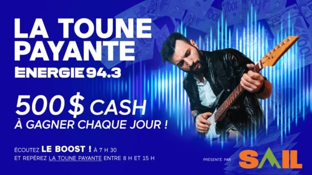 GAGNEZ 500 $ PAR JOUR EN REPÉRANT LA TOUNE PAYANTE!