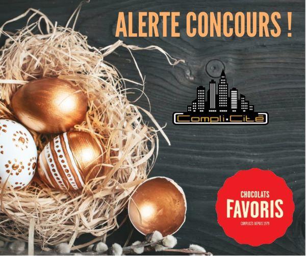 GAGNEZ L'UNE DES 4 CARTES-CADEAUX DE 25$ CHEZ CHOCOLAT FAVORIS!