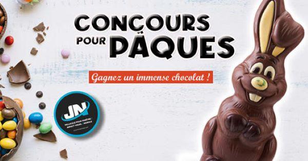 GAGNEZ UN IMMENSE CHOCOLAT DE PÂQUES OFFERT PAR ENTREPRISES JN!
