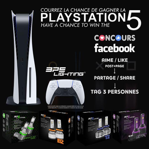 Concours du Québec - GAGNEZ UNE PS5!