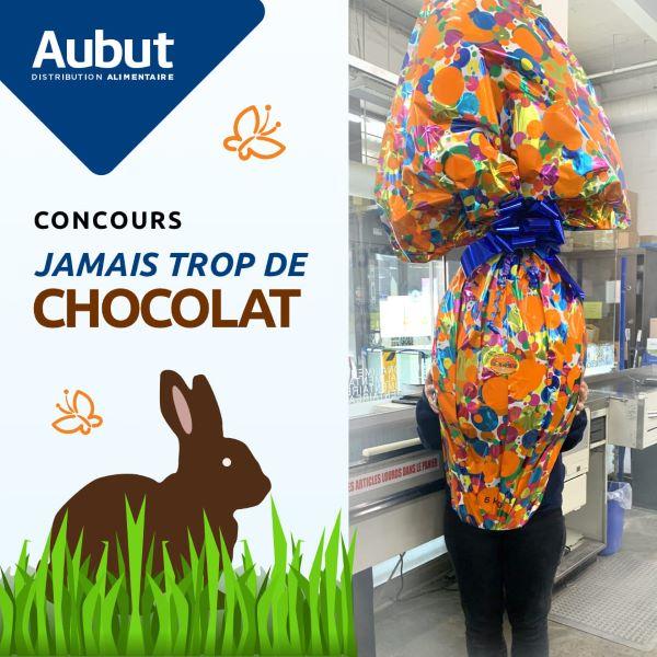 JAMAIS TROP DE CHOCOLAT!