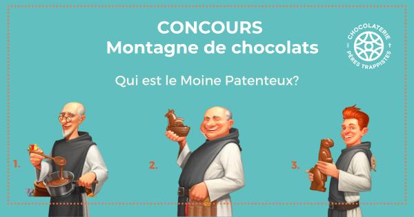 CONCOURS MONTAGNE DE CHOCOLATS DE PÂQUES!
