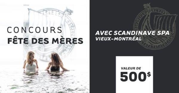 GAGNEZ UN SÉJOUR TOUT EN DOUCEUR POUR LA FÊTE DES MÈRES!