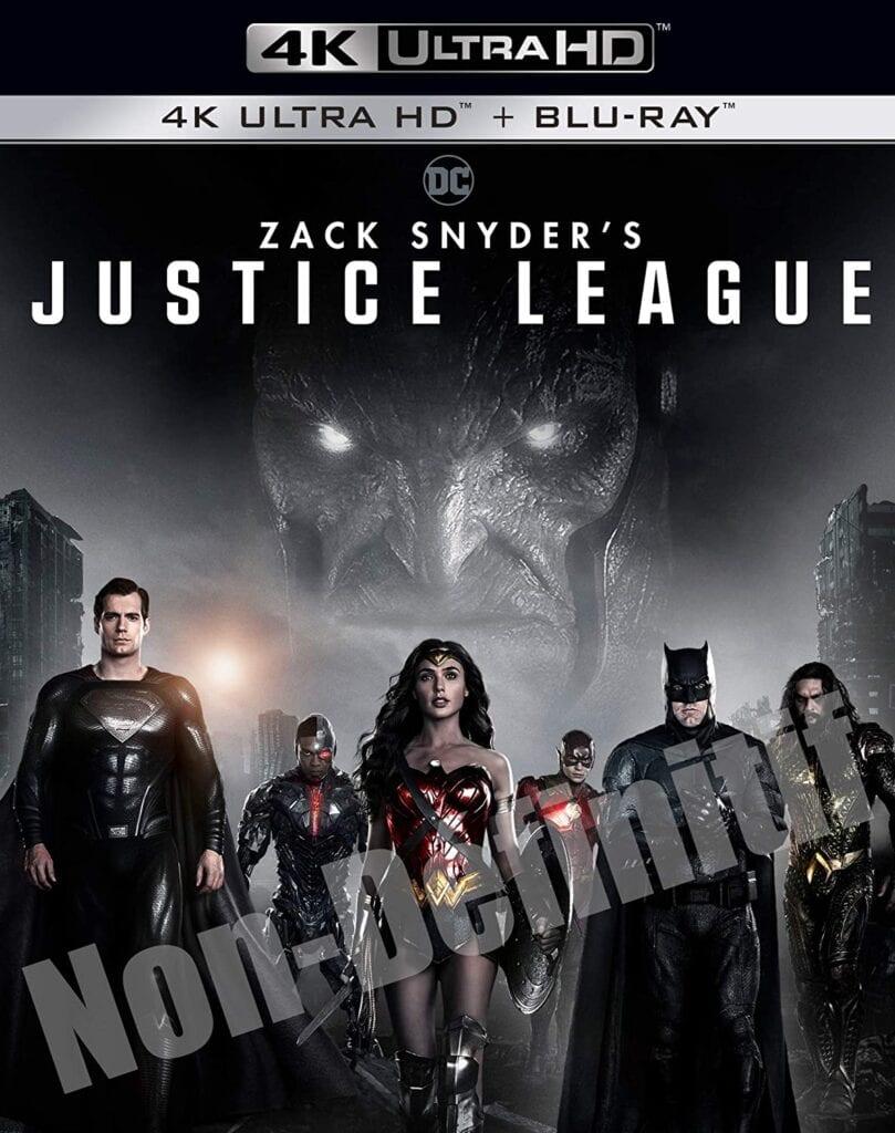 """Gagnez 1 Blu-ray SteelBook 4K Ultra HD du film """"Zack Snyder's Justice League"""""""