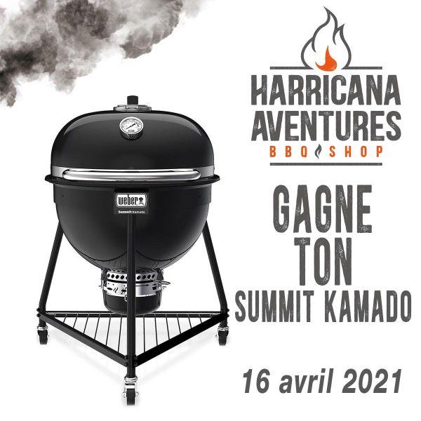 GAGNE TON SUMMIT KAMADO D'UNE VALEUR DE 1500$!