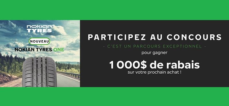 GAGNEZ L'UN DES 3 CHÈQUES-CADEAUX DE 1 000 $