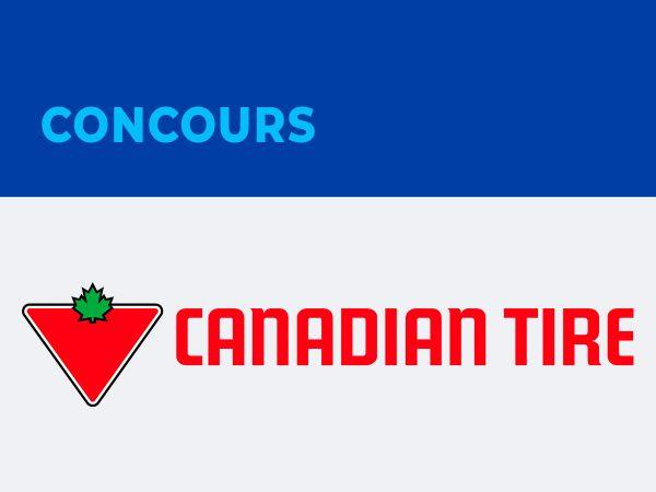 GAGNEZ UNE CARTE-CADEAU DE 50$ CHEZ CANADIAN TIRE!