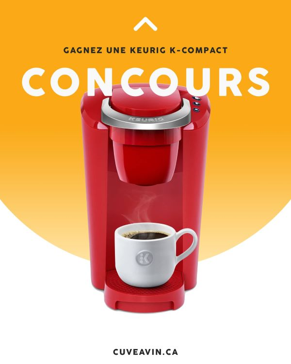 GAGNEZ UNE MACHINE À CAFÉ KEURIG K-COMPACT!