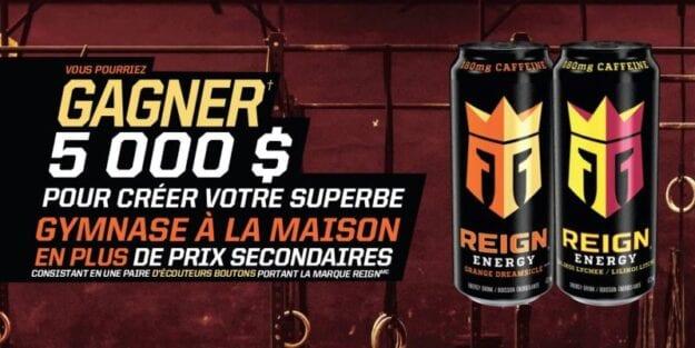 GAGNE 5000$ POUR CRÉER TON PROPRE GYM À LA MAISON!