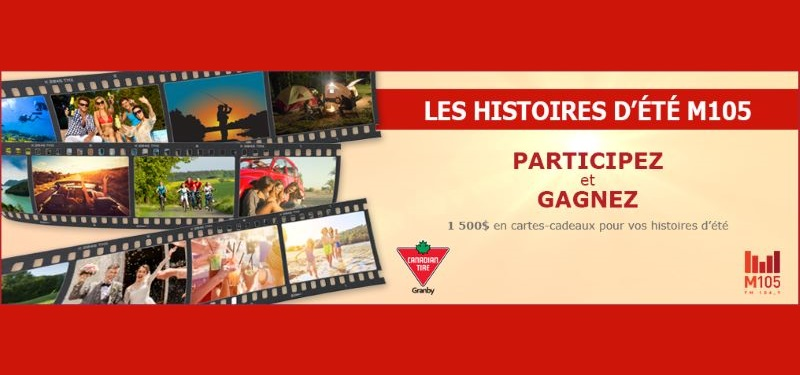 GAGNEZ 500$ À DÉPENSER CHEZ CANADIAN TIRE DE GRANBY!