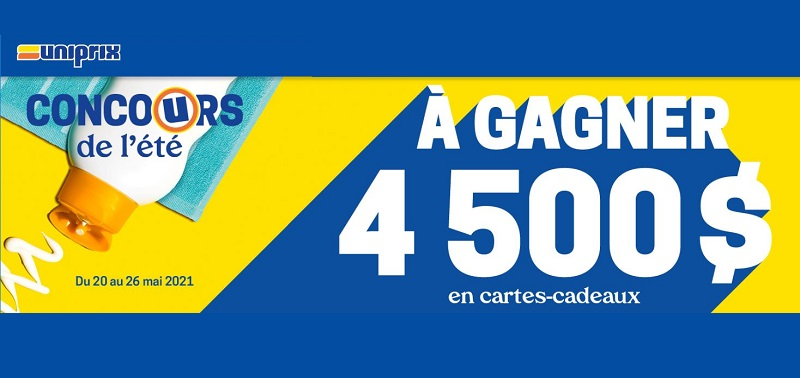 GAGNEZ L'UNE DES 8 CARTES-CADEAUX BBQ QUÉBEC