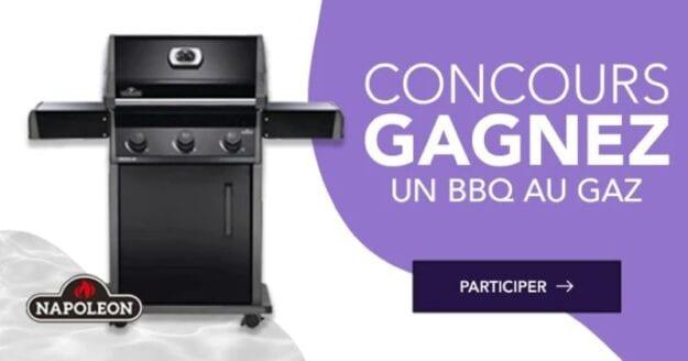 GAGNEZ UN BBQ AU GAZ NAPOLÉON D'UNE VALEUR DE 799$!