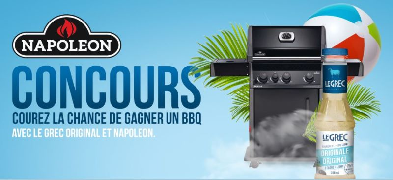 GAGNEZ UN BBQ NAPOLÉON D'UNE VALEUR DE 649.99$!
