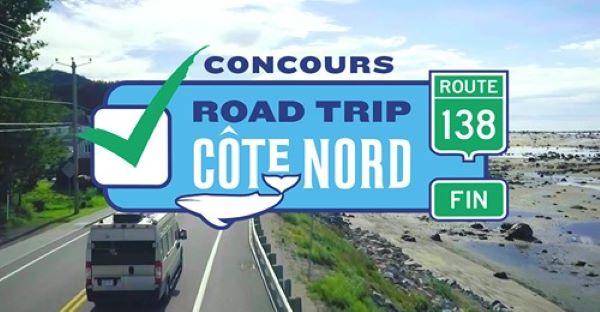 CONCOURS VOS COUPS DE CŒUR – ROAD TRIP CÔTE-NORD!