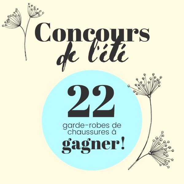 GAGNEZ UNE GARDE-ROBE COMPLÈTE POUR L'ÉTÉ!
