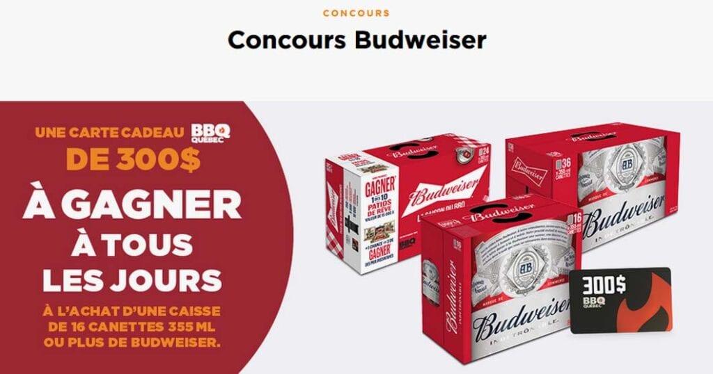 Enflamme ta terrasse grâce à Budweiser