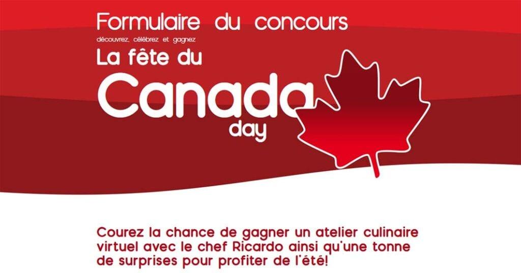 La fête du Canada : découvrez, célébrez et gagnez
