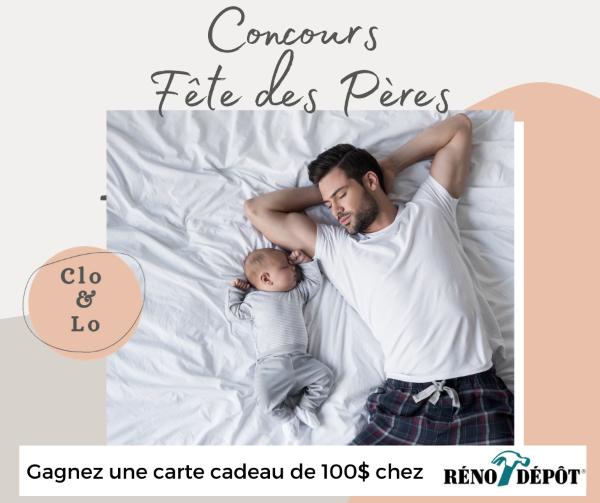 GAGNE UNE CARTE-CADEAU D'UNE VALEUR DE 100$ CHEZ RÉNO-DÉPÔT!