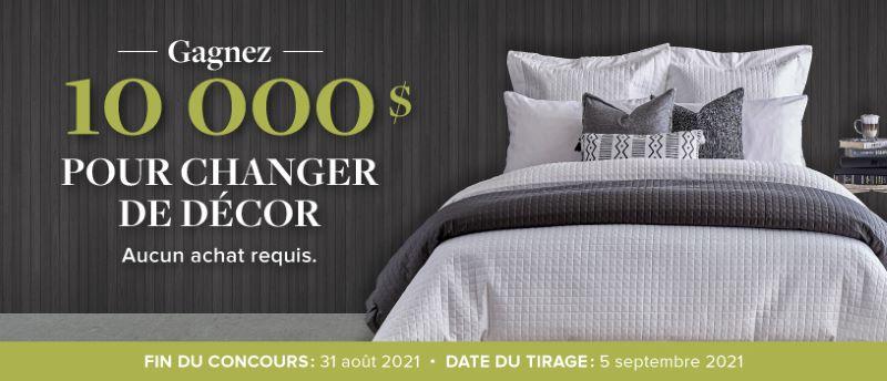 GAGNEZ 10 000$ AVEC LINEN CHEST POUR CHANGER DE DÉCOR!