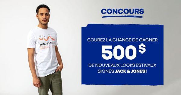 GAGNEZ 500$ DE NOUVEAUX LOOKS POUR L'ÉTÉ!
