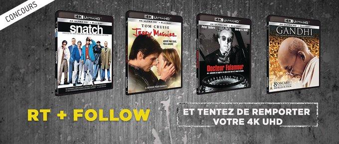 Gagnez 4 films classiques 4K UHD