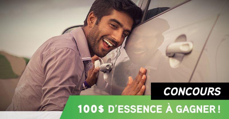 100$ D'ESSENCE À GAGNER!