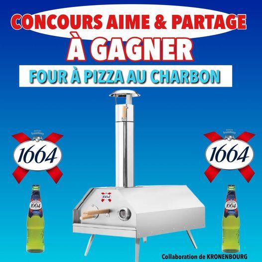 FOUR À PIZZA AU CHARBON KRONENBOURG