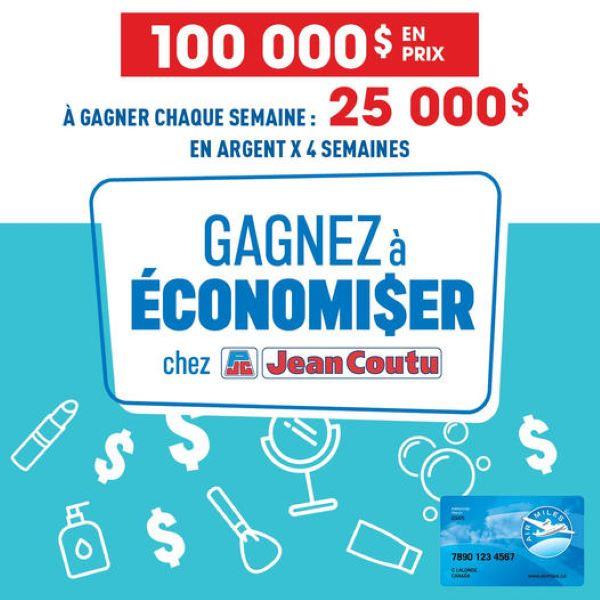 GAGNEZ L'UN DES 4 PRIX DE 25 000 $ EN ARGENT!