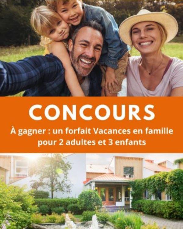 GAGNEZ UN FORFAITS VACANCES EN FAMILLE À L'HÔTEL CHÉRIBOURG